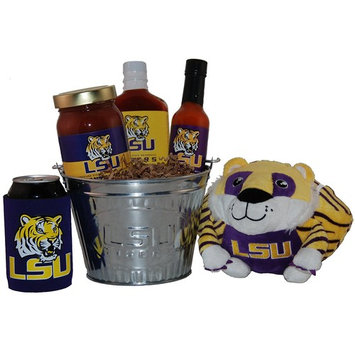 Louisiana State University Tailgate Grilling Gift Basket - Large