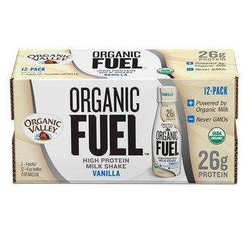 Organic Valley Fuel Vanilla Milk Protein Shake 11 oz, 12 count