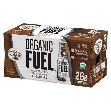 Organic Valley Fuel Chocolate Milk Protein Shake 11 oz, 12 count