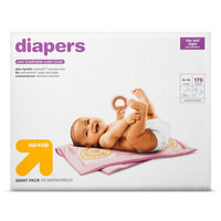 Diapers Giant Pack Size 1 (176 ct) - up & up, White