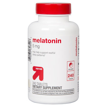 up & up Melatonin 5 mg Tablets - 240 Count
