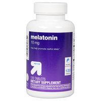 Melatonin 10 mg Tablets - 120 Count - up & up