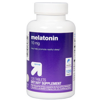 Melatonin 10 mg Tablets - 120 Count - up & up