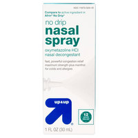 Nasal Decongestant 12hr Spray No Drip 1oz - up & up