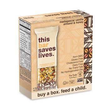 This Bar Saves Lives Madagascar Vanilla Almond & Honey All Granola Bars 5.36 oz