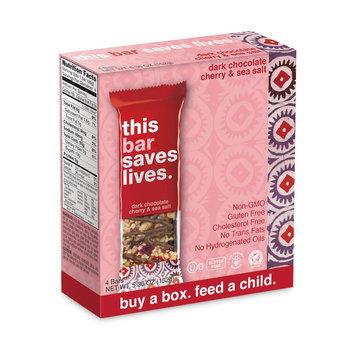 This Bar Saves Lives Dark Chocolate Cherry & Sea Salt All Granola Bars 5.36 oz