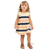 Pulla Bulla Baby Girl Infants Striped Lace Dress