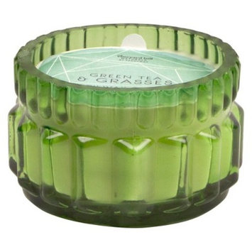 Glass Jar Candle Green Tea & Grasses 3.5oz - Vineyard Hill Naturals by Paddywax®