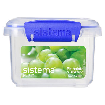 Sistema Klip It 13.5oz Rectangular Container, Clear