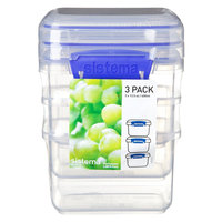 Sistema Klip It 13.5 oz. cups Container, Clear