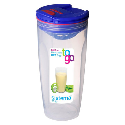 Sistema Shaker To Go 23.6oz, Clear