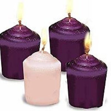 Abby Press Abbey Press Votive Purple/Pink - Advent 4 Candle * 70560(AU)