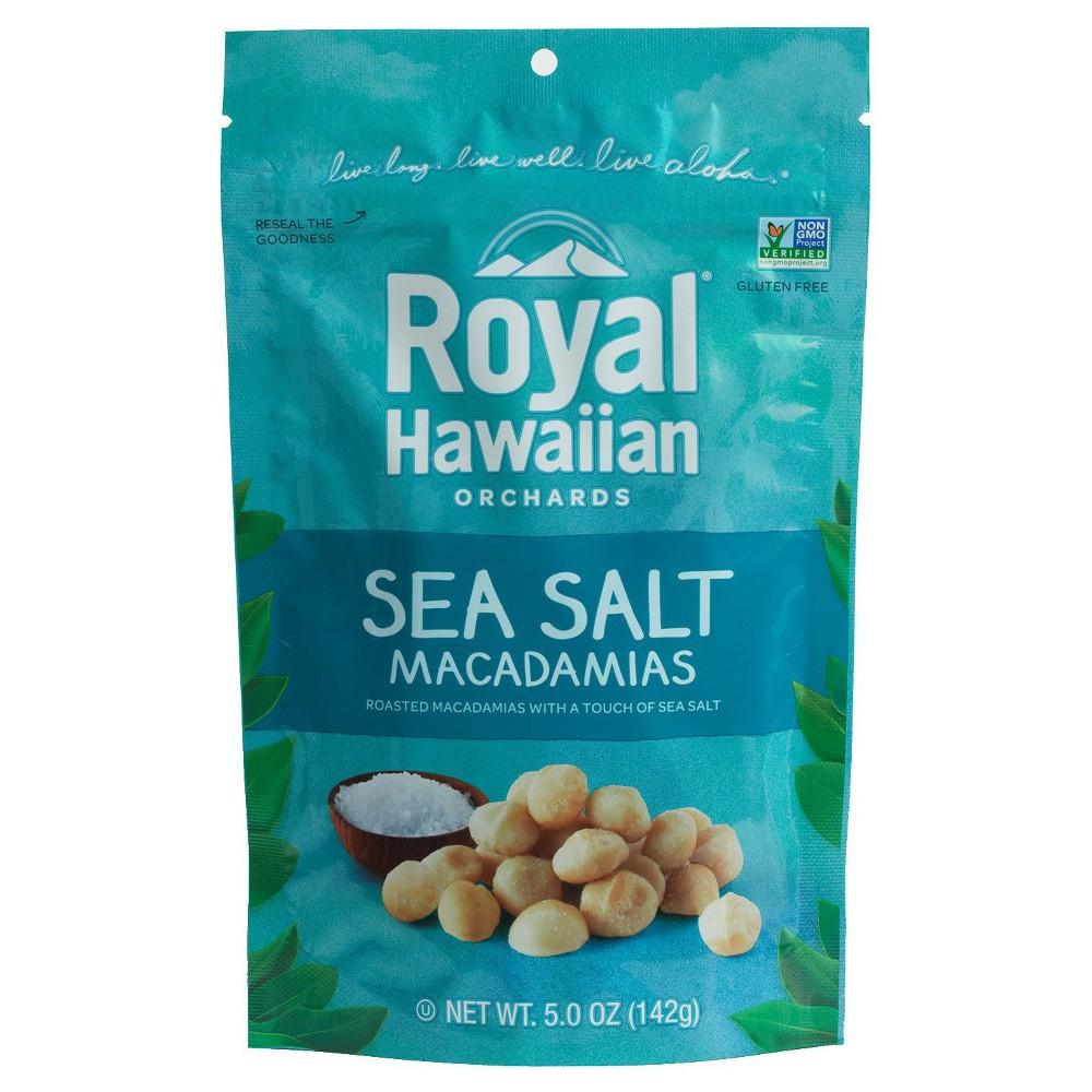 Royal Hawaiian Orchards Macadamia Nuts Sea Salt 5 oz
