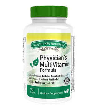 Physician's Multi Vitamin Formula (90 Caplets / One Month Supply) by Health Thru Nutrition