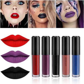 Matte Liquid Lipstick, ETEREAUTY Waterproof Long Lasting Beauty Lip Gloss Set of 12