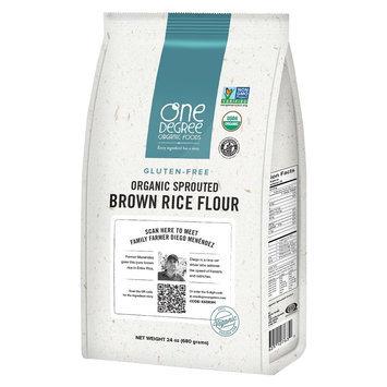 One Degree Organic Foods FLOUR, OG2, SPRTD, RICE, (Pack of 6)