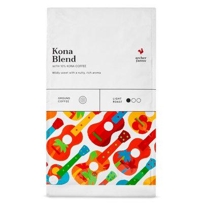 Kona Blend Ground Coffee 20oz - Archer Farms