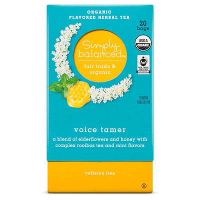 Voice Tamer Organic Herbal Tea 20ct - Simply Balanced