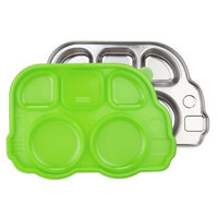 Innobaby Divided Stainless Platter with Lid - Din Din Smart