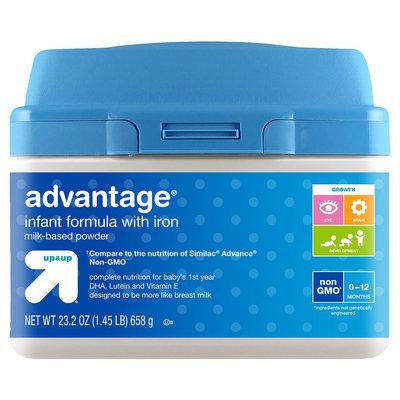 Non GMO Advantage Infant Formula 23.2oz - up & up