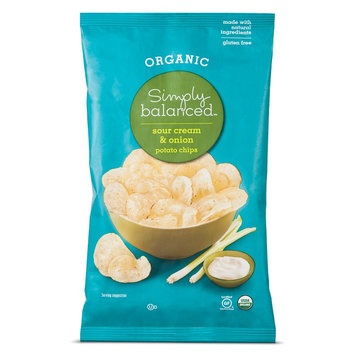 Simply Balanced &153; Sour Cream & Onion Potato Chips 5 oz