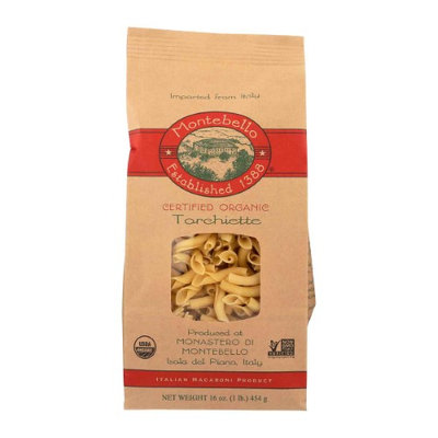 Montebello 256659 16 oz Torchiette Pasta Pack of 12