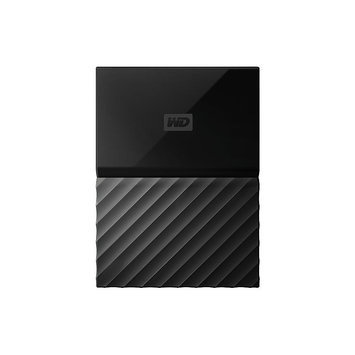 Western Dig Tech. Inc Wd - My Passport 4TB External USB 3.0 Portable Hard Drive - Black