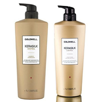 Goldwell Kerasilk Control Shampoo & Conditioner DUO Set 33.8oz each