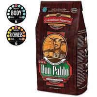 Cafe Don Pablo Gourmet Coffee Medium-Dark Roast Whole Bean, Colombian Supremo, 2 Pound