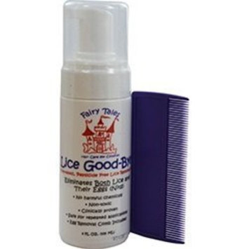 FAIRY TALES LICE GOOD BYE REMOVAL KIT 4OZ UNISEX