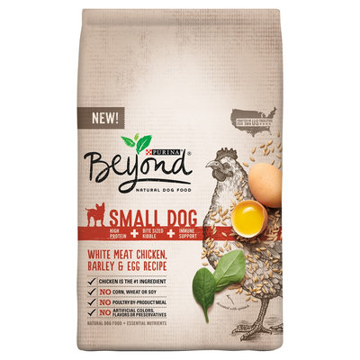 Purina Beyond Small Breed Formula Chicken, Oatmeal and Pumpkin Recipe Dry Dog Food 3.7lb Bag