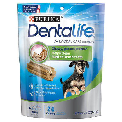 Purina Dentalife Mini Daily Oral Care Treat- 6.8oz