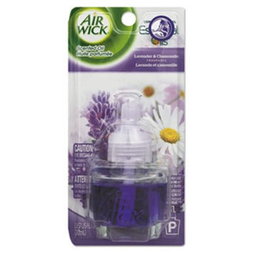 Air Wick 78297CT 0.67 oz Scented Oil Refill Relaxation Lavender & Chamomile Bottle - Blue