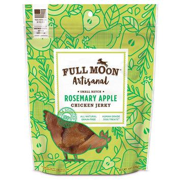 Full Moon Rosemary Apple Chicken Artisanal Jerky Dog Treat - 6oz