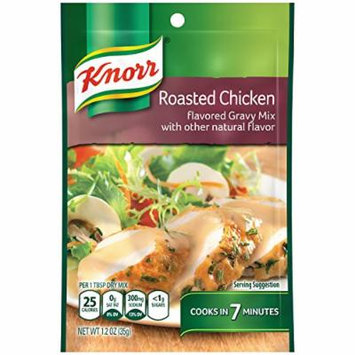Knorr Gravy Mix, Roasted Chicken 1.2 oz (Pack of 24)