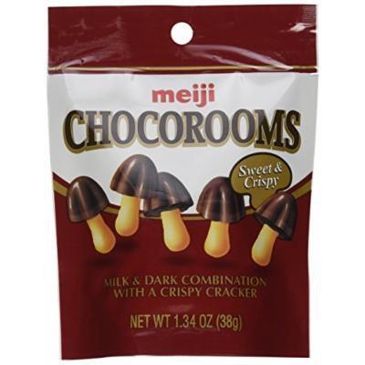Meiji Chocorooms 1.34oz (Pack of 12)