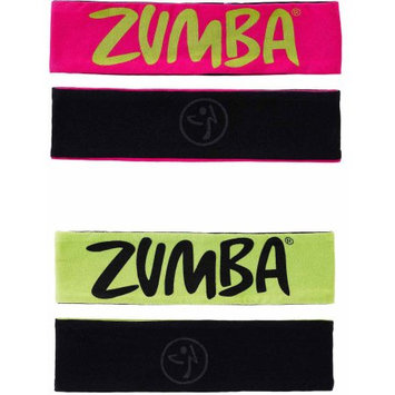 Zumba Two-Ways to Tame It Headbands, 2pk
