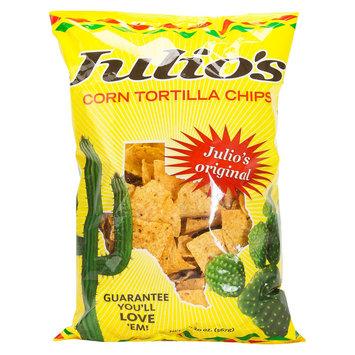 Julios Julio's Original Tortilla chips 20 oz