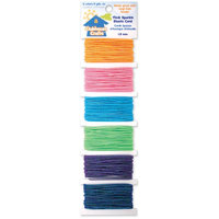 Elastic Cord-Thick Sparkle- 6 Colors 3 Yards Each