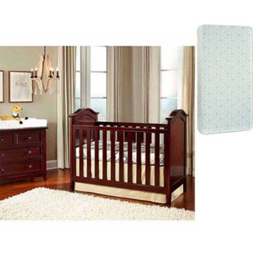Imagio Baby by Westwood Design Summit Park Cottage Crib with Panel Ends in Chocolate Mist