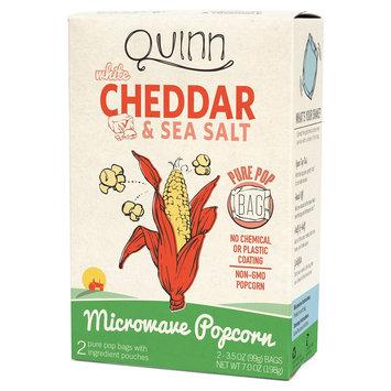 Quinn Popcorn, White Cheddar, 4 Oz