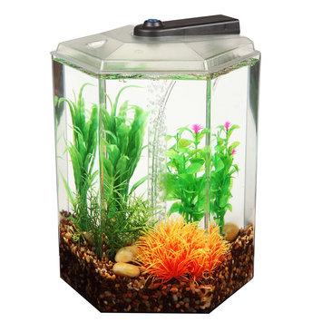 Top Fin® Aqua Scene 2 Desktop Aquarium Starter Kit, Black
