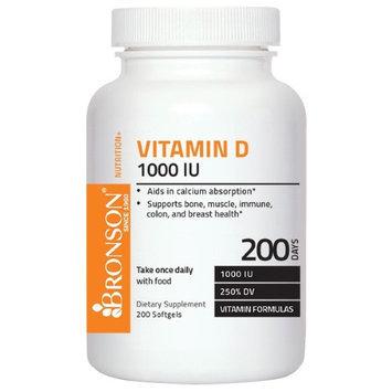 Bronson Vitamins Vitamin D3 1000 IU