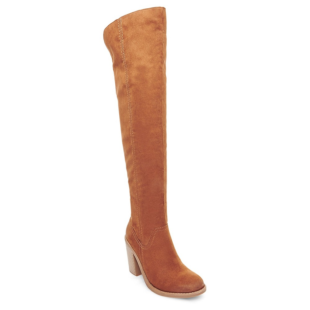 Women's dv Marilyn Over the Knee Fashion Boots - Saddle Brown 8.5