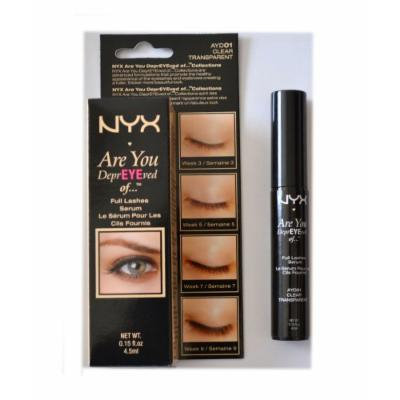 NYX Are You DeprEYEved Of Full Lashes Serum - Clear Transparent