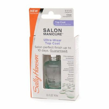 Sally Hansen Salon Manicure Ultra Wear Top Coat - 0.5 Oz, Pack of 2