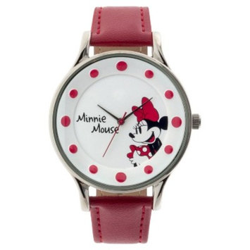 Women's Disney® Minnie Mouse Analog Watch - Red