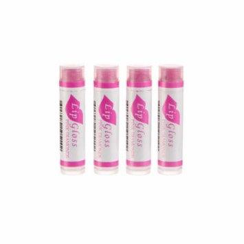 Beeswax Lip Gloss - 4 Pack (Pink Diamonds)