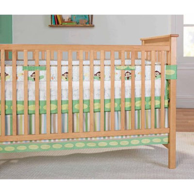 Garanimals Tropical Tree Top Fresh Air Crib Liner