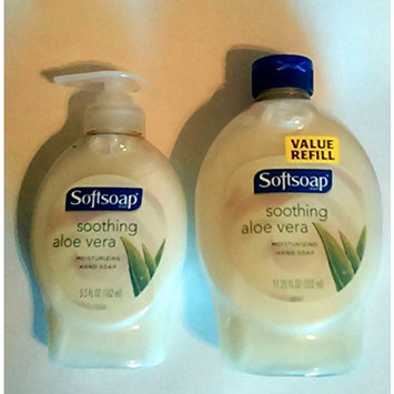 Softsoap Soothing Aloe Vera 5.5 oz plus Softsoap Soothing Aloe Vera 11.25 Refill